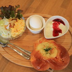 パン デ コマ - 料理写真:モーニングセット 350円