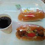 コッペパン専門店 パンの大瀬戸 - 今日の朝食はコーヒーとコッペパン2個