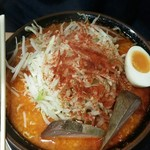 麺屋 たか - 4/13濃厚辛味噌らーめん