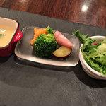 オステリア・ミラ - 前菜の盛り合わせ