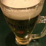 百香亭 - ドリンク写真:生ビール