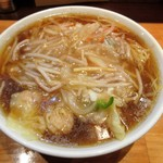 【人気】サンマーワンタン麺