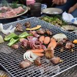 とんぼの森地鶏炭火焼 - 料理写真: