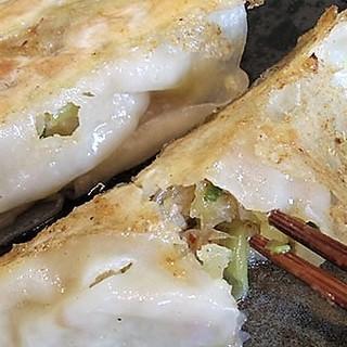 栃木県産和豚もちぶた使用のあんの安心餃子!