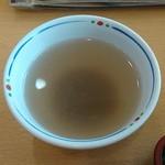 讃岐屋 - 蕎麦湯