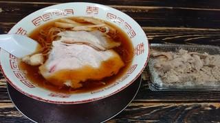 長尾中華そば 西バイパス本店 - あっさり細麺とにぐめし