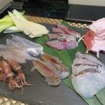ささめ - 花山椒と海鮮しゃぶしゃぶ 1人前1200円 ※写真は2人前