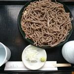 手打蕎麦いちむら - 料理写真:せいろ(十割そば)(800円)
