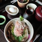 魚季亭 - 鯵のぶっかけ飯 富士山盛り