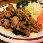 八起 - カシラ炒め(500円)