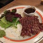 近江牛Steak&Wine モダンミール - 花咲霜降りステーキ