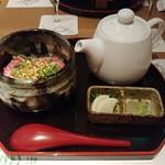 Kushiageshunkashuutou - サーロインスープ茶漬け