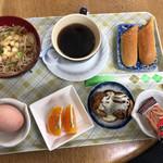 きんぐ堂 - コーヒーセット(350円)