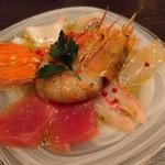 サカナメルカート・ゼン - 鮮魚のカルパッチョ(ミディアム)
