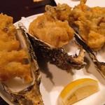 サカナメルカート・ゼン - 牡蠣のフリッター