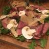 イルモンドピッコロ - 料理写真:「鴨胸肉のタリアータ ルーコラとペコリーノチーズ」1980円