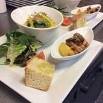 イタリア厨房 KUNISHIMA - ミニコースランチ