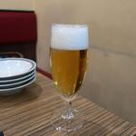 ごっつ - 乾杯の生ビール