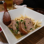 ごっつ - 豚肩ロースの柔らか煮&ポテトフライ