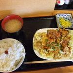 がっつり亭 - チキン南蛮定食