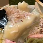 麺や勝治 - ワンタン200円のアップ