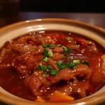 ザ・肉餃子 四川厨房 - 牛肉四川煮