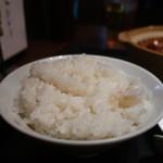 ザ・肉餃子 四川厨房 - ライス