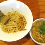 麺や 亀陣 - 鶏白湯醤油つけ麺_800円