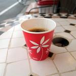 パン工房FLOR - サービスのコーヒー