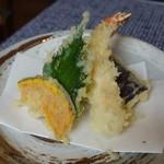 手打ち蕎麦 さくら - 天ぷら