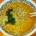 中国ラーメン揚州商人 - カレータンタン麺(中太麺:揚州麺)940円
