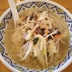 中国ラーメン揚州商人 - 野菜ラーメン(細麺:柳麺)820円