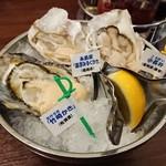Oyster Bar ジャックポット - 今日の生牡蠣