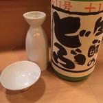 日本酒LARGO - 初霞生酛のどぶ500円