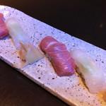 ゼックスウエスト ザ バー - 【Sushi】                             ・中トロ                              ・真鯛