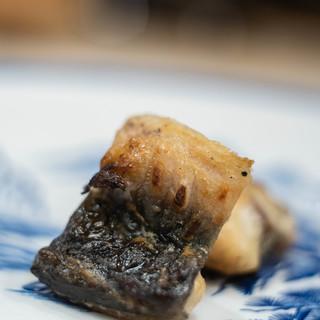 三笠鮨 - 料理写真:肥後天草(ひごあまくさ)鰻(むなぎ)