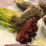 ル ビストロ - 明石の蛸。