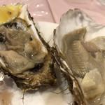ル ビストロ - 生牡蠣。