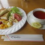 喫茶ケント - 料理写真:モーニングセットB 550円 (2018.4)