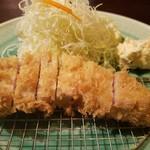 あげづき - 並ロースかつ定食(1458円)