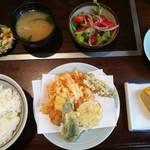 天ぷら きよし - たまたま定食