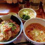 レストラン こかげ - 焼き肉丼セット