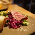 イツキ - ランチのサラダ