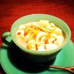 CAFE+BAR shya-la-la - マシュマロキャラメルラテ