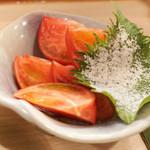 泰然 - 冷やしトマト