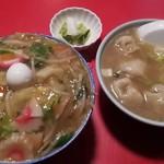 84147554 - 中華丼(600円)、水餃子(450円)