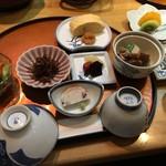 人丸花壇 - 朝食