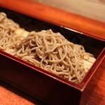 蕎麦懐石 無庵 - 料理写真:石臼せいろ