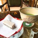 84150682 - お抹茶と和菓子のセット
