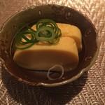串カツ&ワインバル ゑしぇ蔵 - お通し:卵焼き